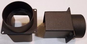 kit canalizzazione stufe a legna ad aria Elite Classica e Moderna Clementi
