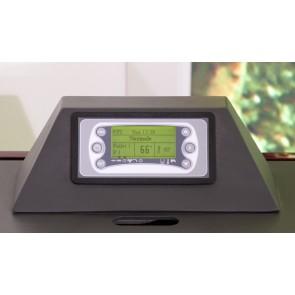 tastiera display verde 6 tasti stufe pellet policombustibili Infinity Clementi