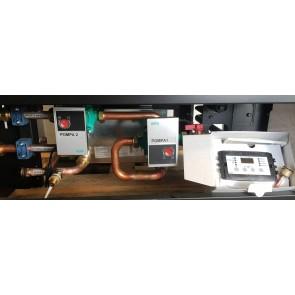 kit separatore impianto idraulico vale con centralina per termocamini clementi CLE80 CLE100