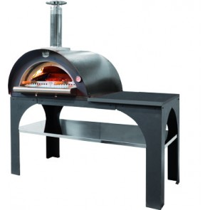 Forno Pizza Party Inox legna