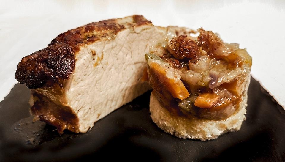 Ricetta Arista di maiale nel forno a legna